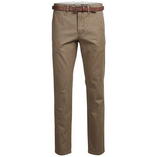 Spodnie typu chino, kolor beżowy