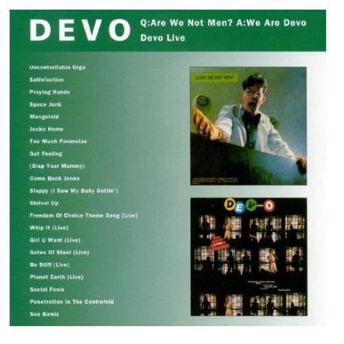 Devo - Q Are We Not Men? A We Are Devo / Devo Live