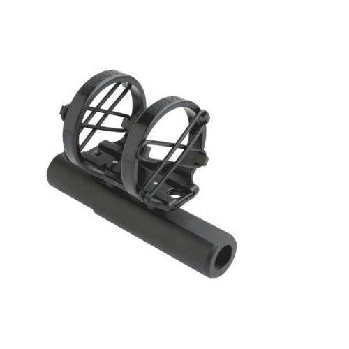 Rode SM5 regulowany uchwyt elastyczny do mikrofonów typu shotgun [NTG-1, NTG-2, NTG-3, NT3, NT4, NT5 oraz NT55], specjalne mocowanie do profesjonalnych kamer Panasonic i Sony