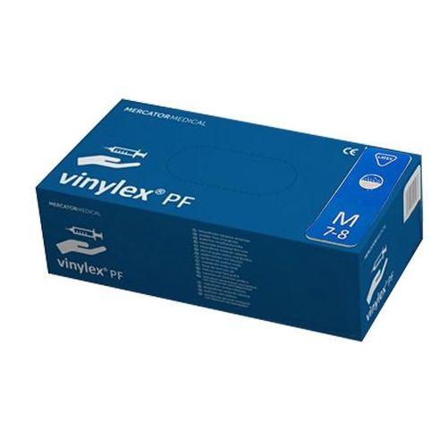Rękawice VINYLEX powder-free M 100szt, 0000-00-0902-MER-233
