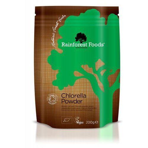 Chlorella bio, 200g marki Rainforest foods