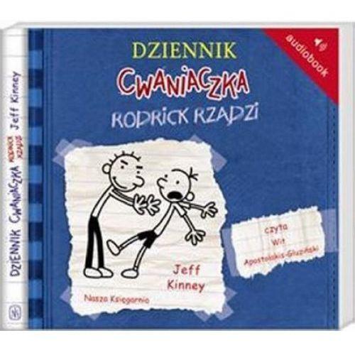 Dziennik cwaniaczka 2. Rodrick rządzi - książka audio na CD (format mp3), Nasza Księgarnia