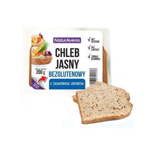 Naturavena 200g chleb bezglutenowy jasny z siemieniem lnianym