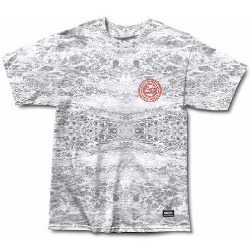 koszulka GRIZZLY - Surf N Turf S/S Tee Washed Grey Tie- Dye (WGRY) rozmiar: XL, 1 rozmiar