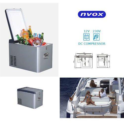 NVOX K25P lodówka turystyczna samochodowa 25L sprężarkowa z kompresorem 12V 230V - produkt z kategorii- lodówki turystyczne
