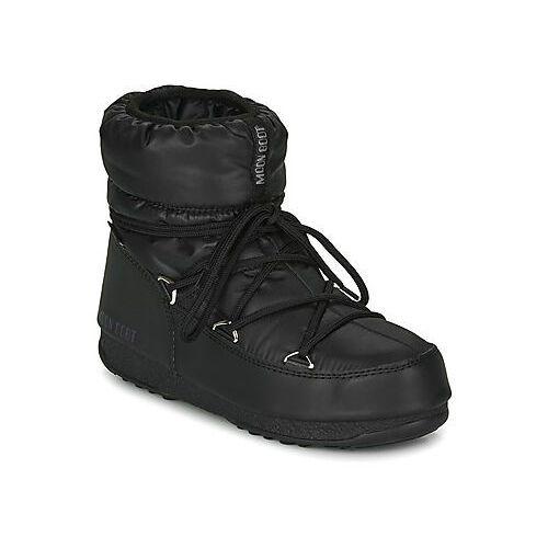 Śniegowce Moon Boot MOON BOOT LOW NYLON WP 2, kolor czarny