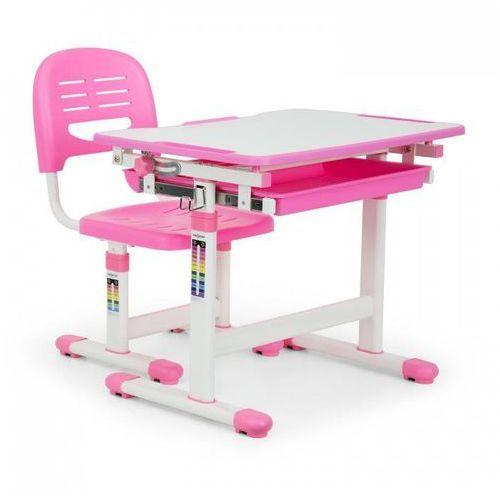 annika biurko dla dziecka z krzeslem rozowy marki Oneconcept
