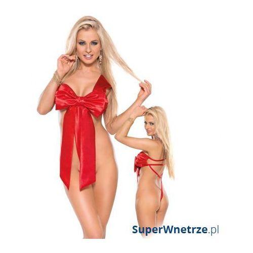 Kostium/kokarda dla niej Roxana czerwona - produkt z kategorii- garsonki i kostiumy
