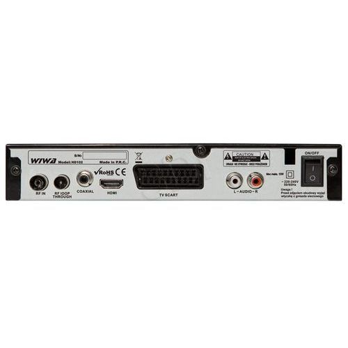 HD 102 Memo marki Wiwa z kategorii: dekodery telewizji cyfrowej