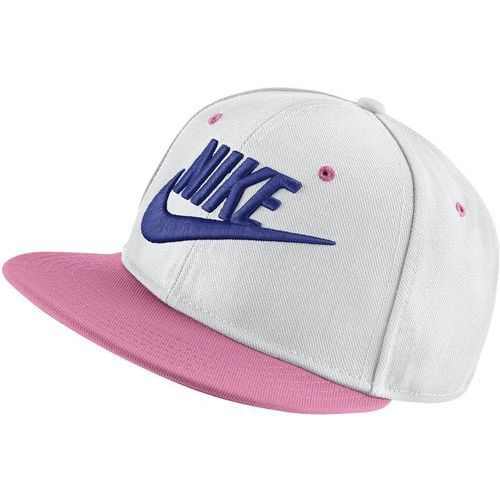 czapka dziecięca y nk true cap futura white coral chalk black rush violet marki Nike