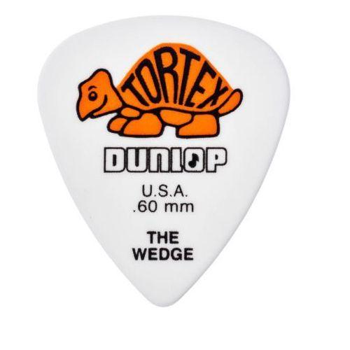 Dunlop 424R Tortex Wedge kostka gitarowa 0.60mm pomarańczowa