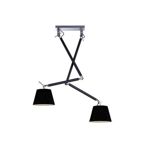 Azzardo Zyta 2 s black pendant md2300-2s bk lampa sufitowa pendant (5901238418641)