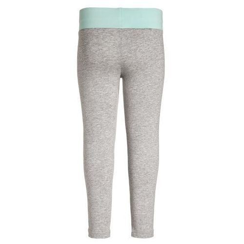 adidas Performance Legginsy medium grey heather/ice green z kategorii legginsy dla dzieci