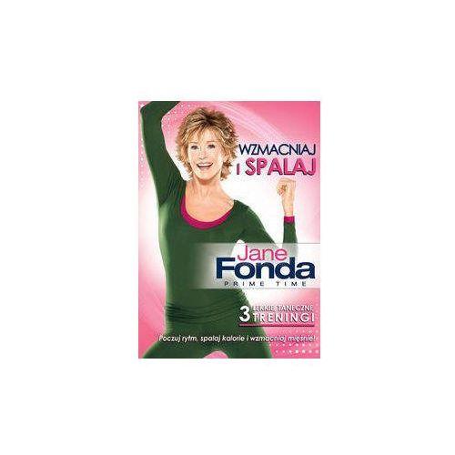 Jane Fonda- Wzmacniaj i spalaj (Płyta DVD)