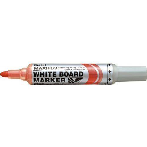 Marker suchościeralny  maxiflo mwl5m czerwony marki Pentel