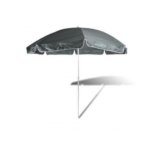 Parasol plażowy, zielony (300cm). - produkt dostępny w VidaXL