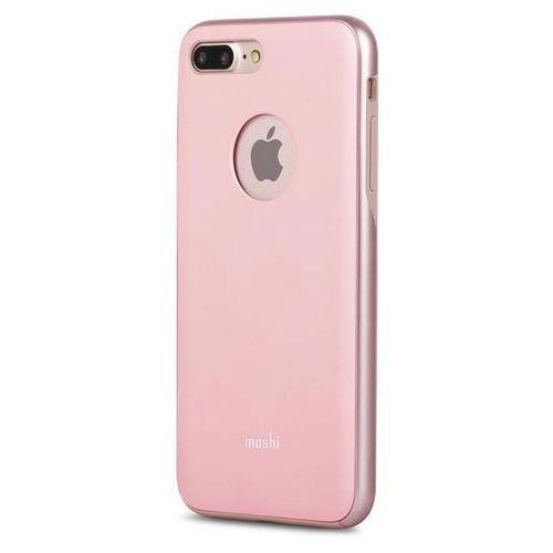 Moshi iGlaze - Etui iPhone 7 Plus (Blush Pink) Odbiór osobisty w ponad 40 miastach lub kurier 24h, kolor Moshi