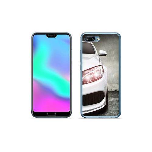 Etuo foto case Huawei honor 10 - etui na telefon foto case - biały samochód
