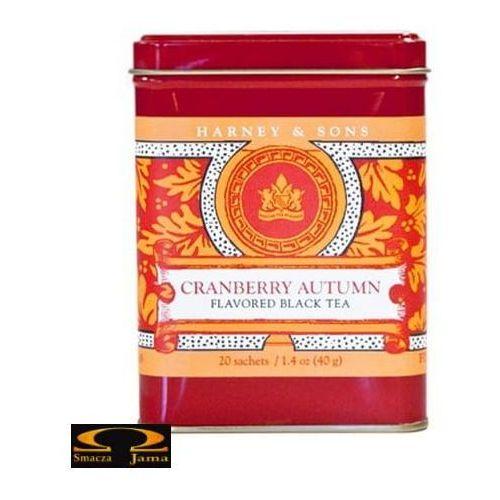 Herbata Harney & Sons Cranberry Autum, puszka liściasta 114g, 3541