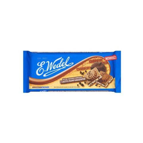 E. wedel 290g czekolada mleczna z nadzieniem karmelowym i ciasteczkami kakaowymi (5901588017907)