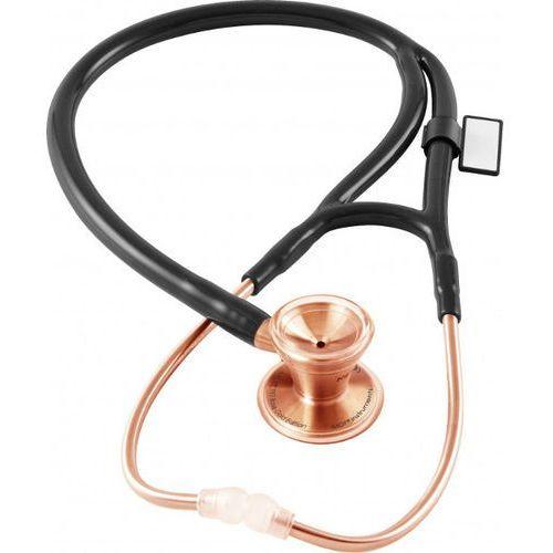 Stetoskop kardiologiczny classic cardiology 797 różowe złoto - czarny marki Mdf