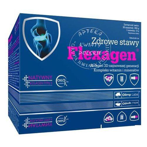 Olimp flexagen x 30 sasz o smaku malinowym - proszek na zapalenie stawów