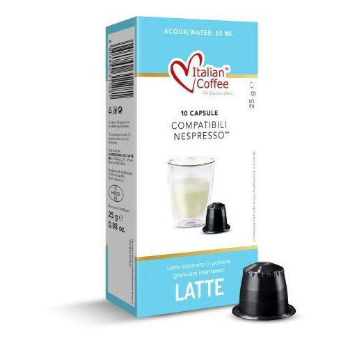 Nespresso kapsułki Latte italian coffee (mleko w proszku) kapsułki do nespresso – 10 kapsułek (8054890311281)