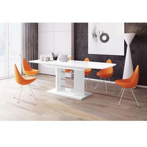Biały stół rozkładany w wysokim połysku Linosa 3