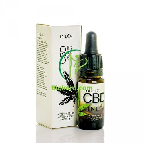 India cosmetics Olej z cbd 5% 10ml,