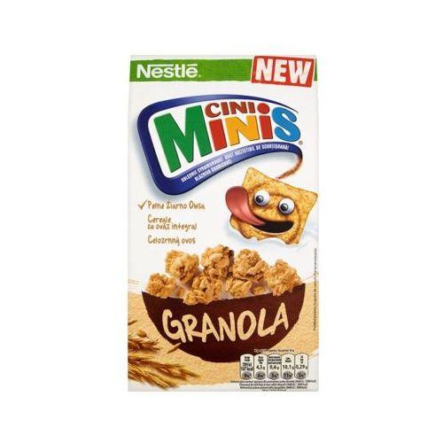 Nestle 320g cini minis granola płatki śniadaniowe
