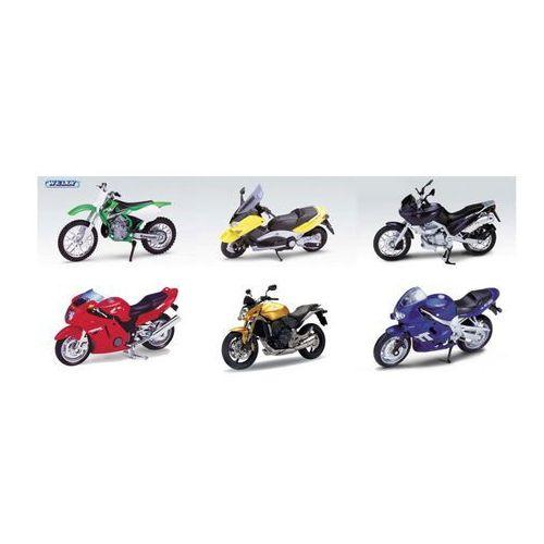 WELLY WELLY MOTOCYKL 1:18 K531 (motor zabawka) od ELECTRO.pl