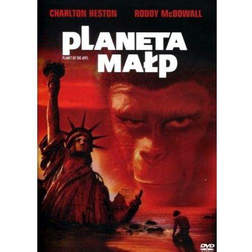 Planeta małp (DVD) - Franklin J. Schaffner DARMOWA DOSTAWA KIOSK RUCHU (5903570101168)