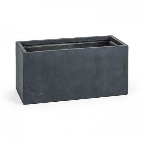 solidflor doniczka/pojemnik na rośliny 79,5x38x38 cm fiberton antracyt marki Blumfeldt