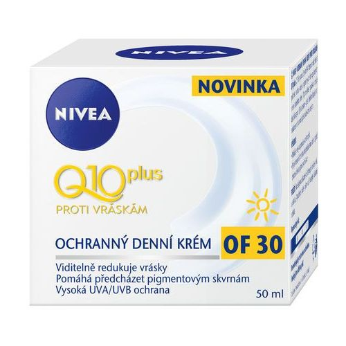 Nivea q10 plus day cream spf30 50ml w krem do twarzy (4005900167019)