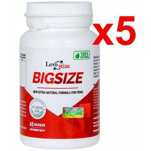 Lovestim 5x bigsize szybkie bezpieczne powiększenie penisa