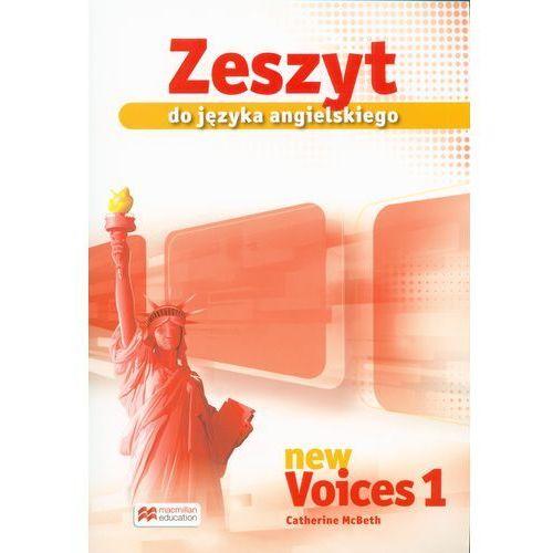 Język angielski, klasa 1-3, New Voices 1, zeszyt, Macmillan (9788376215020)