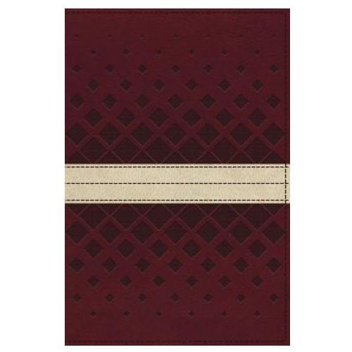 NKJV, Unapologetic Study Bible, Leathersoft, Red/Tan, Thumb Indexed, Red Letter Edition (9780310080404)