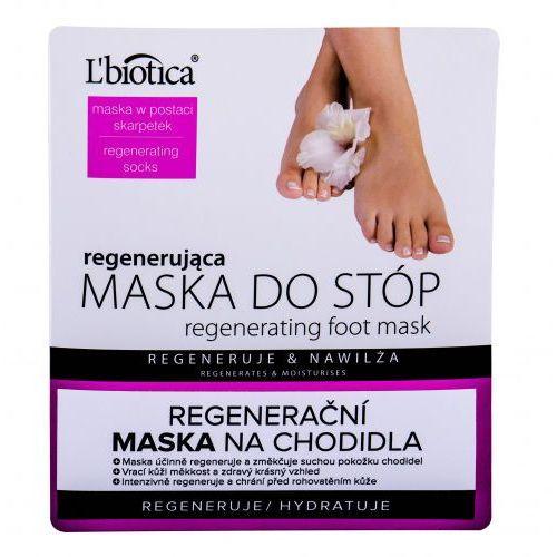 L´biotica foot mask regenerating pielęgnacja stóp 1 szt dla kobiet (5907636934301)