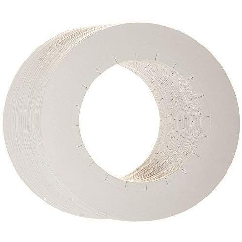 Cosnet Osłonka papierowa na puszkę wosku 100szt