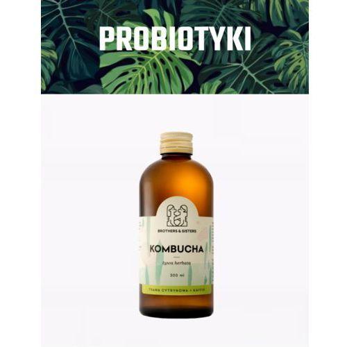 Nuja Kombucha trawa cytrynowa + kaffir / dieta sokowa / detoks sokowy (5907222215029)
