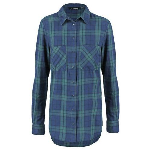 New Look FARRINGDON CHECK Koszula green - oferta [158ddda05f73463a]
