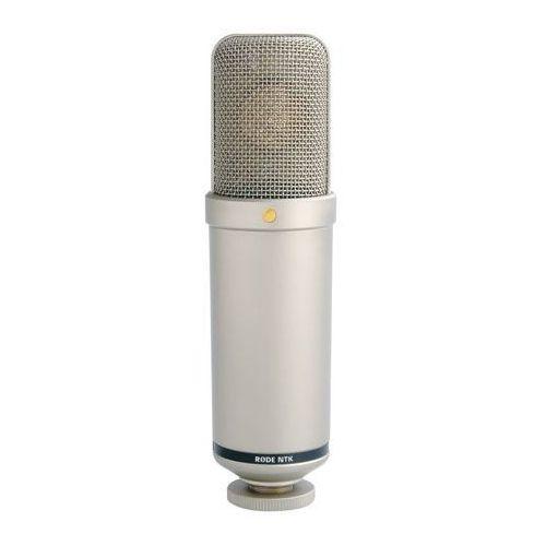 """ntk - lampowy mikrofon pojemnościowy -5% na pierwsze zakupy z kodem """"start""""! marki Rode"""