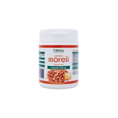 Pestki Moreli (Amigdalina, Witamina B17) 300mg (MyVita) 250 kaps., PRONESS