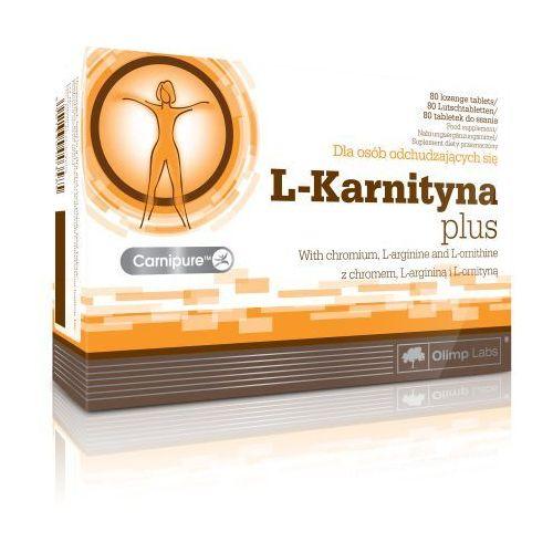 OLIMP L-Karnityna PLUS Tabletki na odchudzanie chrom l-karnityna arginina ornityna 80tabl (tabletki)