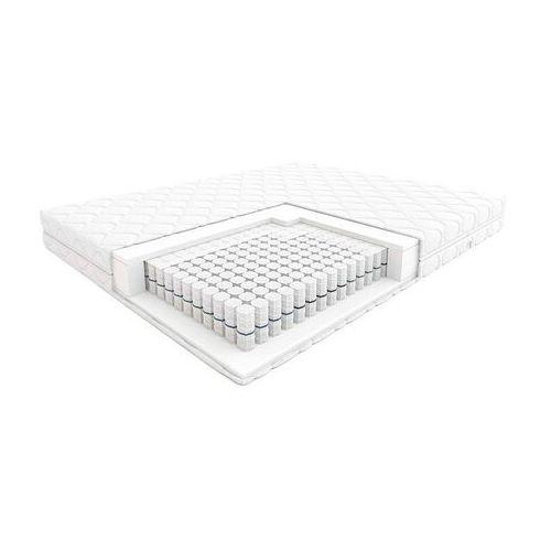 Hilding step - materac kieszeniowy, sprężynowy, rozmiar - 80x200, twardość - twardy, pokrowiec - silver najlepsza cena, darmowa dostawa (5901595014234)