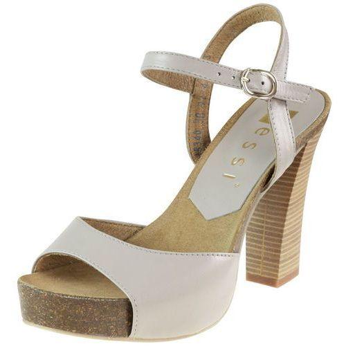 Sandały Nessi 18340 - Beżowe 38, 1 rozmiar