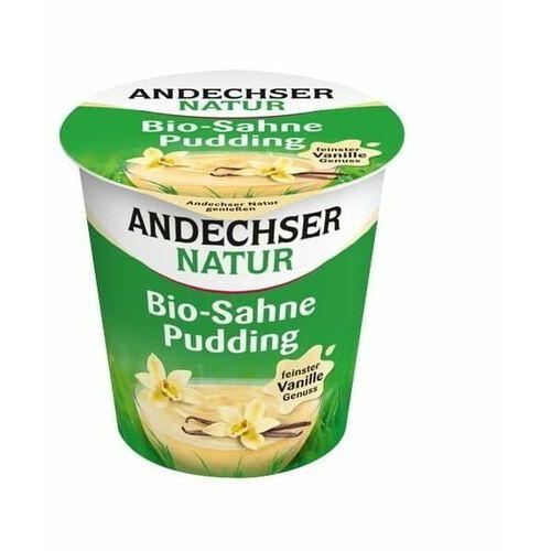 Pudding waniliowy 10% bio 150 g natur marki Andechser