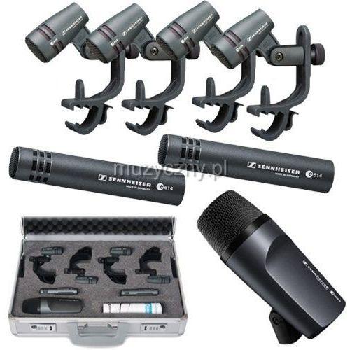 e-600 zestaw mikrofonów do perkusji marki Sennheiser