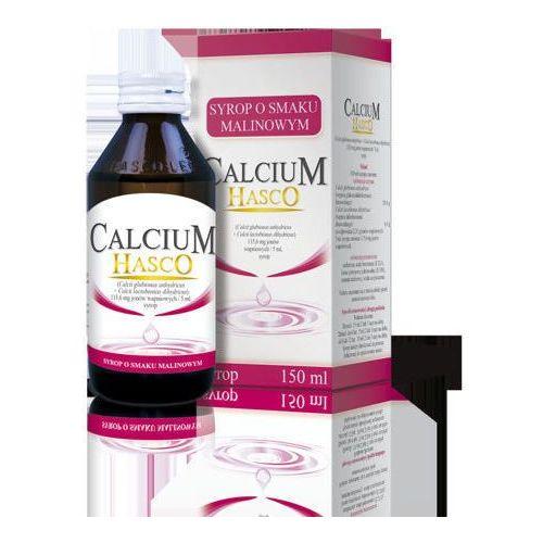 Syrop CALCIUM HASCO Syrop o smaku malinowym 150ml