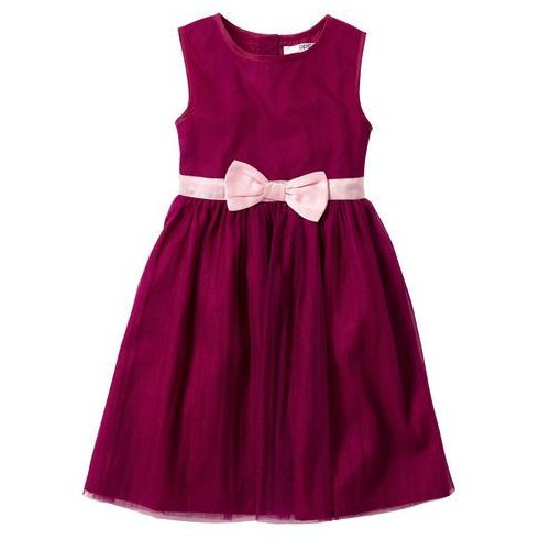 Sukienka bonprix jeżynowy, kolor fioletowy